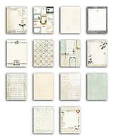 Papier - PB128  Blok papierov 15x20cm, 14designov x 2, 140g/m² Zaujímavosti - 7675090_