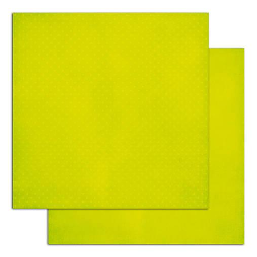 PE60 Papier Mahé2 216 g/m2  30,5 x30,5 cm Bodkovaný anízovo zelený