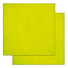 Papier - PE60 Papier Mahé2 216 g/m2  30,5 x30,5 cm Bodkovaný anízovo zelený - 7676291_