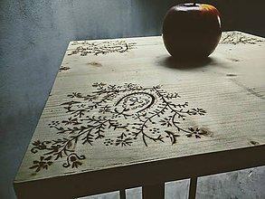 Nábytok - FOLK bar stôl - 7676095_