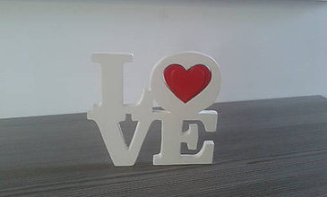 Dekorácie - Nápis LOVE - 7674811_