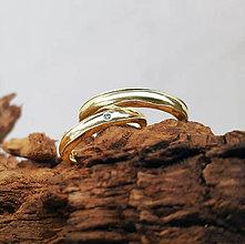Prstene - Natural wedding bands - 7681315_