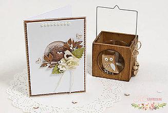 Papiernictvo - Scrapbooková pohľadnica IX - 7680658_