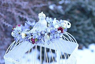 Ozdoby do vlasov - venček by michelle flowers - 7678162_