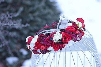 Ozdoby do vlasov - venček by michelle flowers - 7678175_
