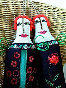 """Bábiky - AKCIA - """"Čiernulky"""" - 7681651_"""