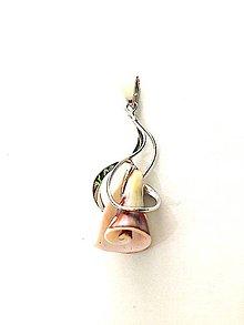 Iné šperky - Prívesok mušľa - 7678437_