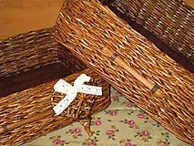 - Košíky- Ebenové šuflíčky II - 7678838_