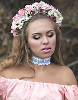 Náhrdelníky - Folk náhrdelník choker - 7681770_