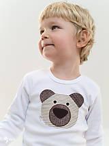 Detské oblečenie - body MACO  (dlhý/krátky rukáv) - 7678436_