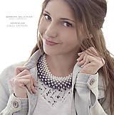 Náhrdelníky - ombre perlový náhrdelník podľa želania - 7680712_