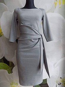 Šaty - Skvele šaty s viazačkou - 7681896_