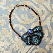 Sady šperkov - Amulette de Calsillica - vyšívaný náhrdelník - 7679923_