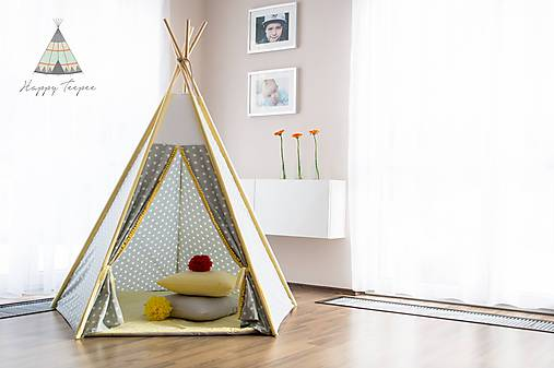 Detské doplnky - Teepee Star touch of the sun - 7678270_