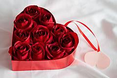 """Dekorácie - Kvetinový box """"...z lásky..."""" - 7679519_"""