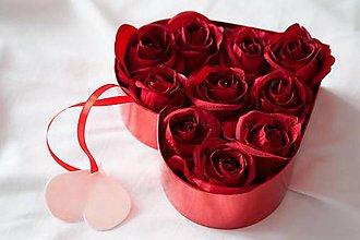 """Dekorácie - Kvetinový box """"...z lásky..."""" - 7679522_"""