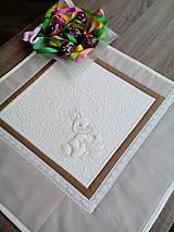 Úžitkový textil - Veľkonočný obrus - 7678000_