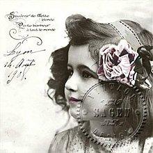 Papier - Sagen kolekcia dievčatko - 7677961_