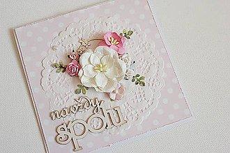 Papiernictvo - Svadobná pohľadnica - 7680302_