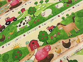 Textil - 100% kvalitná bavlna dovoz Francuzko - 7681332_