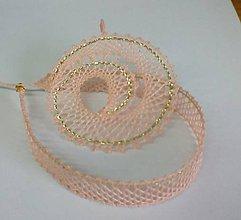 Náhrdelníky - paličkovaný náhrdelník - 7678167_