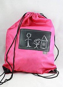 Batohy - Detský batoh s tabuľou na písanie - 7684585_