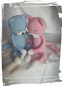 Hračky - Ružová mačička - 7682398_