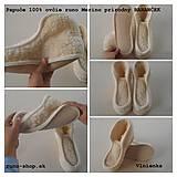 VLNIENKA barefoot Papuče dámske / pánske /pre deti zo 100 % ovčej vlny BARANČEK