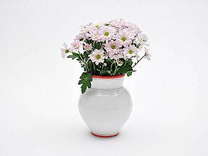 Nádoby - Convivium váza habán červená - 7682747_
