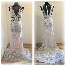 Šaty - Svadobné šaty na zákazku - 7686572_