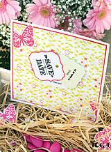 Papier - PPK014 Color Factory Sada papierov 100g/m2 A4, 48 listov farby Ružová / zelený aníz - 7685128_