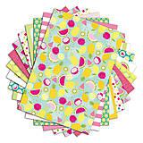 Papier - PPK017 Color Factory Sada papierov 100g/m2 A4, 48 listov Leto - 7685169_