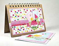 Papier - PPK017 Color Factory Sada papierov 100g/m2 A4, 48 listov Leto - 7685172_