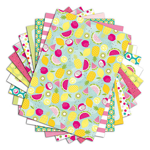PPK017 Color Factory Sada papierov 100g/m2 A4, 48 listov Leto