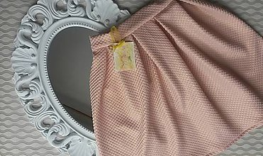 Sukne - MIDI skladaná sukňa - 7683293_