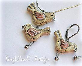 Sady šperkov - keramický šperk - Láska prichádza po špičkách - 7684260_