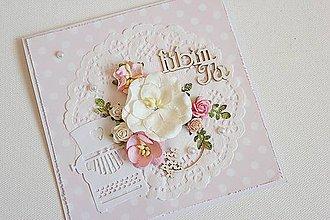 Papiernictvo - Romantická pohľadnica - 7682296_