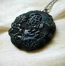 Šperky - Jadeitový drak - 7683268_