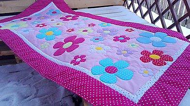 Textil - Kvetinkový prehoz - 7684581_