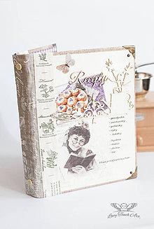 """Papiernictvo - """"La Provence Receptár"""" / na zákazku :) - 7683454_"""