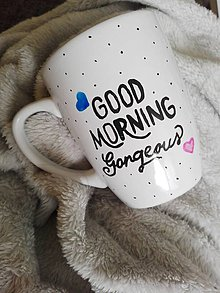 Nádoby - Hrnček dobre rano - 7682528_