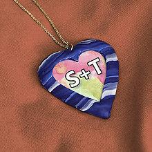 Náhrdelníky - Prívesok pre zamilovaných 2 - 7686168_