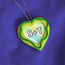 Náhrdelníky - Prívesok pre zamilovaných 3 - 7686179_