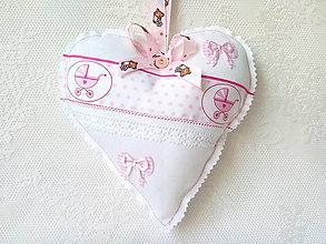 Detské doplnky - Heart for a little girl - 7689099_