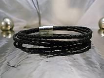 Šperky - bionet black - trojitý vypletaný - 7689811_