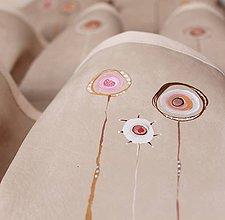 Úžitkový textil - Kapsář velký pampeluchy - 7688257_
