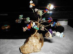 Dekorácie - The Tree of Life and happy-stromček šťastia - 7689107_