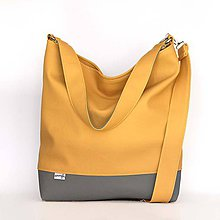 Kabelky - Chloe (žlto-šedá) - 7686781_