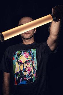 Tričká - Tričko (Adler - bavlna) Quentin Tarantino (black) - 7690201_