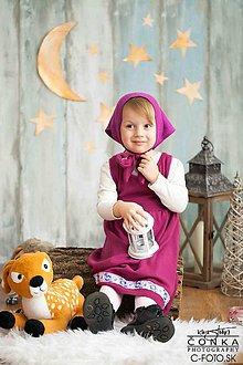 Detské oblečenie - Karnevalový kostým Máša - 7690449_